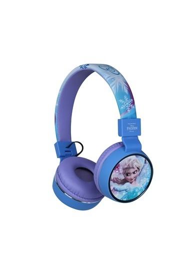 Volkano Disney Frozen Karlar Ülkesi Anna Elsa Bluetooth Kulaklık Kablosuz Çocuk Kulaklığı Lisanslı DY-1006-FR Renkli